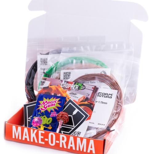 Filamentproben (PLA-Filament, PETG-Filament, ABS-Filament)