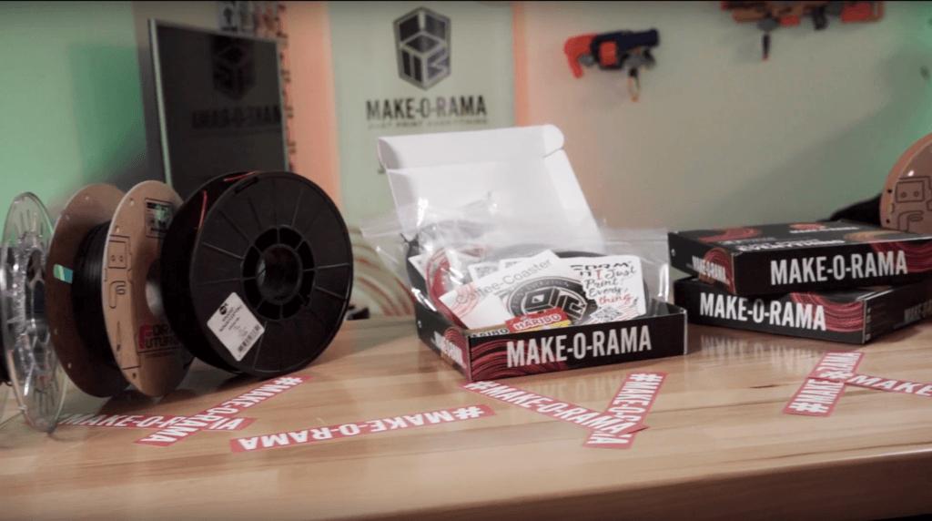 Die Make-o-Rama filamentproben Box
